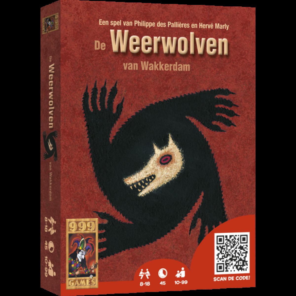 Kaartspel 999 Weerwolven Van Wakkerdam Kopen Op Amusement Be