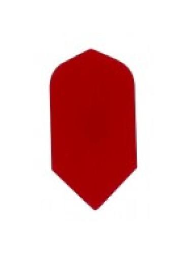 Dart Veer Poly 10 sets slim rood