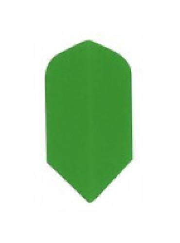 Dart Veer Poly 10 sets slim groen