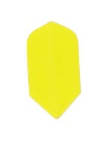 Dart Veer Poly 10 sets slim geel