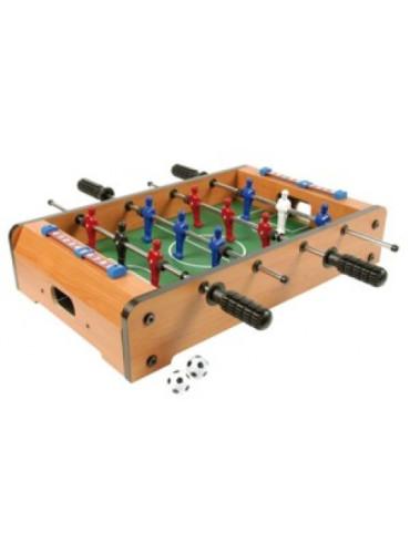 Tafelvoetbalspel Mini hout 50 cm
