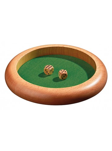 Afgooipiste rond hout 22cm