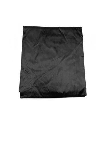 Afdekzeil Zwart Nylon met Elastiek 8ft