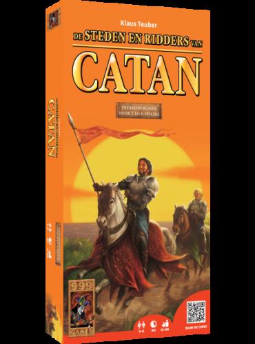 Kolonisten Van Catan Uitbreiding 5/6 spelers: Steden & Ridders