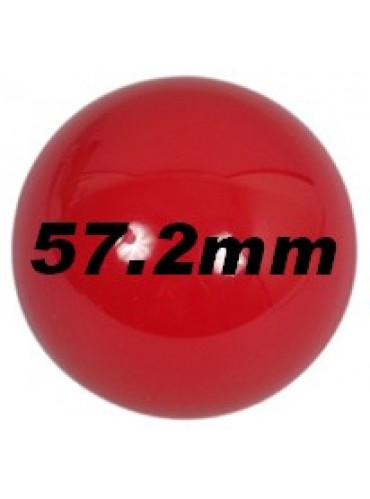 Ballen - los 57mm rood