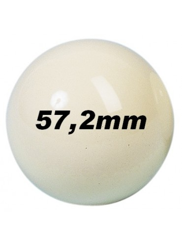Ballen - los 57mm wit