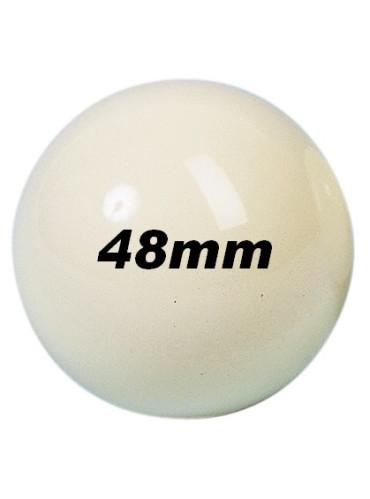 Ballen - los 48mm wit