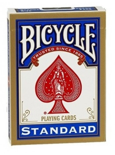 Pokerkaarten Bicycle Standard Index - blauw