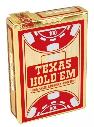 Pokerkaarten Copag Texas Jumbo Rood