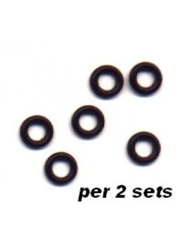Dart Shaft Rubber Ringetjes/6