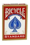 Pokerkaarten Bicycle Standard Index - rood