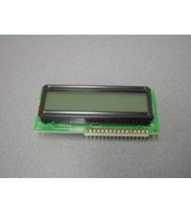 LCD display incl. connector 16 p.