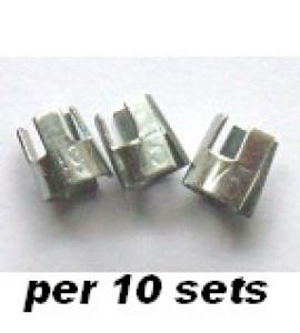 Dart Shaft Reserve Clips/10 zakjes