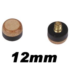 Schroef Pomerans koper 12mm