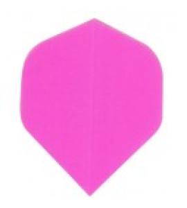 Dart Veer Poly Fluro 10 sets roze