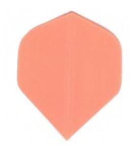 Dart Veer Poly Fluro 10 sets oranje