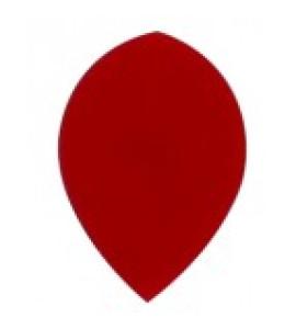 Dart Veer Poly 10 sets pear rood