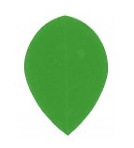 Dart Veer Poly 10 sets pear groen