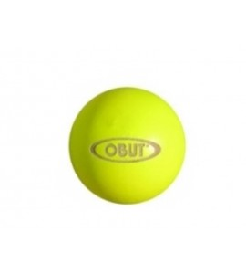 Petanque doelbal Obut hout geel