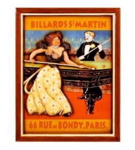 Wandbord Billards St Martin