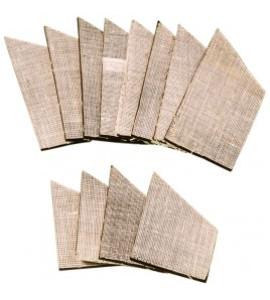 Bandafsluitersrubbers set 12