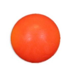 Kunstof balletje oranje
