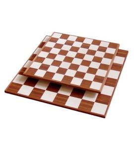 SchaSchaakbord Mahonie/Ahorn - veld 45mm
