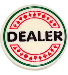 Poker - Dealer Button 5cm