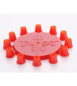 Trident 180 Dart Punten Cones - rood