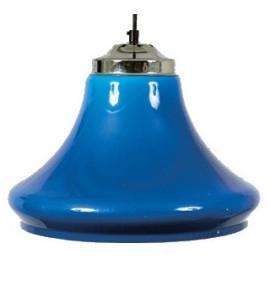 Lichtscherm Blauwkleurige Klok