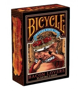 Pokerkaarten Bicycle Bacon Lovers