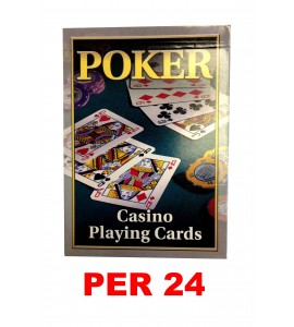 Pokerkaarten ACE - per doos van 24