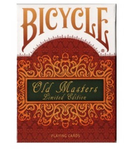 Pokerkaarten Bicycle Old Masters *Limited Edition*