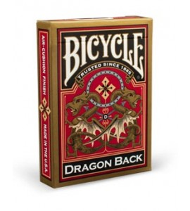Pokerkaarten Bicycle Dragon Back Gold