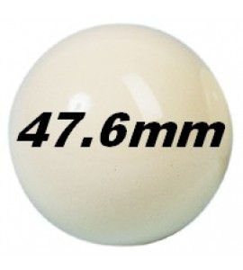 Bal Pool/Snooker - Wit 47,6mm Aramith
