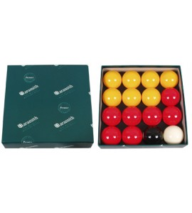 Ballenset Pool 52,4mm rood/geel
