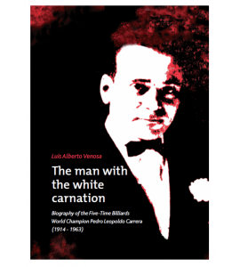 Boek 'The man with the white carnation'