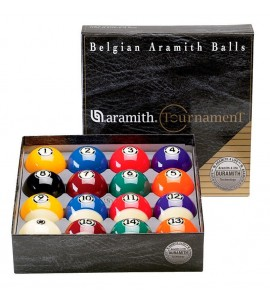 Ballenset Pool 57,2mm Aramith Tournament Duramith
