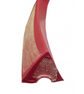 Band rubber Rood 3-hoek 320cm