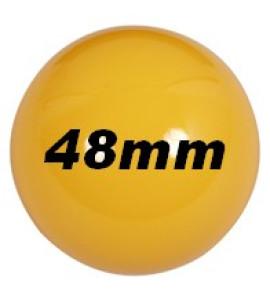 Ballen - los 48 mm geel