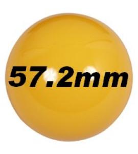 Ballen - los 57mm geel