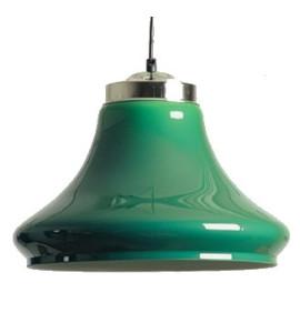 Lichtscherm Groenkleurige Klok