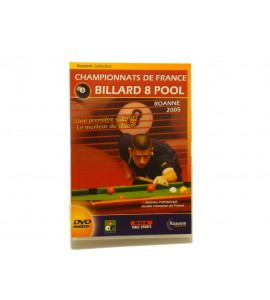 DVD Billard 8 Pool Roanne 2005