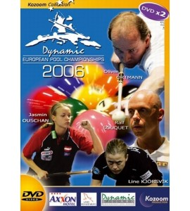 DVD X2 European Pool Championships