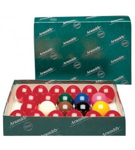 Snookerballen 22st. 57,2mm