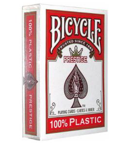 Pokerkaarten Bicycle Prestige Rood