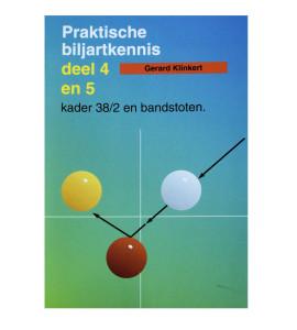 Boek Praktische Biljartkennis Deel 4 & 5 - Gerard Klinkert