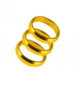 Harrows Supergrip spare rings - goud