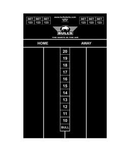 Dart Scorebord voor Krijt 45x30cm