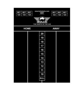 Dart Scorebord voor Krijt 60x44cm